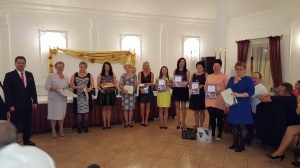 Bal Mistrzów Okręgu 2015 r. Wręczanie nagród